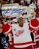 Dominik Hasek Signed Red Wings 8x10 Photo (COJO COA) at PristineAuction.com