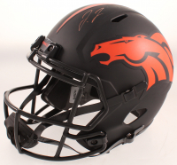 Jerry Jeudy Signed Broncos Full-Size Eclipse Speed Helmet (JSA COA) at PristineAuction.com