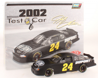 Jeff Gordon Signed LE #24 DuPont 2002 Test Car Chevrolet Monte Carlo 1:24 Scale Stock Car & Multi-Functional Stop Watch (JSA COA) at PristineAuction.com