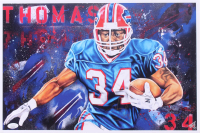 Thurman Thomas Signed Bills 12x17.75 Lithograph (JSA COA) at PristineAuction.com