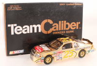 Jerry Nadeau Signed LE #25 UAW-Delphi 2001 Monte Carlo 1:24 Scale Gold Stock Car (JSA COA) at PristineAuction.com