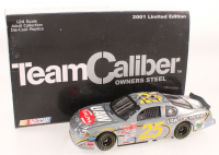 Jerry Nadeau Signed LE #25 UAW-Delphi 2001 Monte Carlo 1:24 Scale Steel Stock Car (JSA COA) at PristineAuction.com