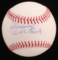 """Jose Contreras Signed OML Baseball Inscribed """"05 WS Champs"""" (MAB Hologram) at PristineAuction.com"""