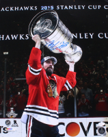 Patrick Sharp Signed Blackhawks 16x20 Photo (JSA Hologram) at PristineAuction.com