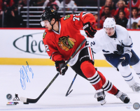 Artemi Panarin Signed Blackhawks 16x20 Photo (SideLine Hologram) at PristineAuction.com