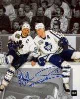 Mats Sundin & Doug Gilmour Signed Maple Leafs 8x10 Photo (COJO COA) at PristineAuction.com