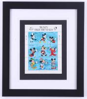 "Walt Disney's ""Mickey Thru The Years"" 13x15 Custom Framed Display at PristineAuction.com"