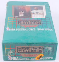 1990-91 SkyBox Series 2 Basketball Unopened Wax Box with (36) Packs at PristineAuction.com