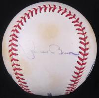 Mariano Rivera Signed Yankee Stadium Logo OML Baseball (JSA COA) at PristineAuction.com