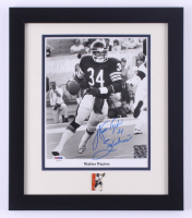 "Walter Payton Signed Bears 13x15 Custom Framed Photo Display Inscribed ""Sweetness"" (PSA LOA) at PristineAuction.com"