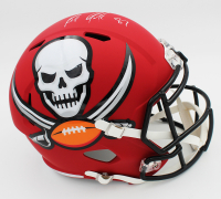 Rob Gronkowski Signed Buccaneers Full-Size AMP Alternate Speed Helmet (Radtke COA) at PristineAuction.com