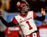 Kyler Murray Signed Oklahoma Sooners 8x10 Photo (PSA COA) at PristineAuction.com
