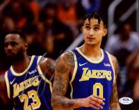 Kyle Kuzma Signed Lakers 8x10 Photo (PSA COA) at PristineAuction.com