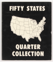 """United States """"Fifty States"""" Quarter Collection with Booklet at PristineAuction.com"""