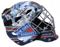 Henrik Lundqvist Signed Rangers Goalie Mask (Fanatics Hologram) at PristineAuction.com
