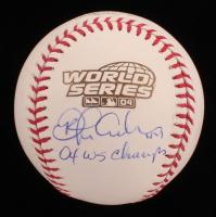 "Orlando Cabrera Signed 2004 World Series Baseball Inscribed ""04 WS Champs"" (JSA COA) at PristineAuction.com"