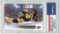 Matt Murray Signed 2018-19 Upper Deck Canvas #C65 (Fanatics Encapsulated) at PristineAuction.com