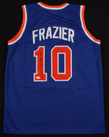 "Walt Frazier Signed Jersey Inscribed ""HOF 1987"" (JSA COA) at PristineAuction.com"