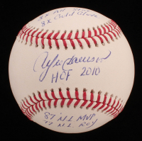 Andre Dawson Signed OML Baseball with (5) Inscriptions (JSA COA) at PristineAuction.com