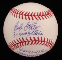 Bob Feller Signed OML Baseball with (4) Inscriptions (JSA COA) at PristineAuction.com