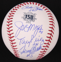 """Reds LE """"Big Red Machine"""" 150th Anniversary Commemorative OML Baseball Signed by (4) with Johnny Bench, Tony Perez, Joe Morgan & Pete Rose (JSA COA) at PristineAuction.com"""