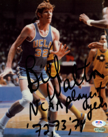"Bill Walton Signed UCLA Bruins 8x10 Photo Inscribed ""NCAA Player Of Year '72, '73, '74"" (PSA COA) at PristineAuction.com"