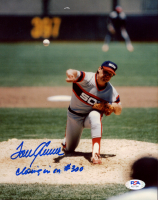 """Tom Seaver Signed White Sox 8x10 Photo Inscribed """"Closing in on #300"""" (PSA COA) at PristineAuction.com"""