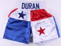 Roberto Duran Signed Boxing Trunks (JSA COA) at PristineAuction.com