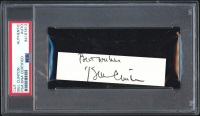 """Bill Clinton Signed Cut Inscribed """"Best Wishes"""" (PSA Encapsulated) at PristineAuction.com"""