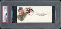 Chuck Yeager Signed Cut (PSA Encapsulated) at PristineAuction.com