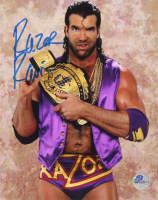 "Scott ""Razor Ramon"" Hall Signed WWE 8x10 Photo (Pro Player Hologram) at PristineAuction.com"