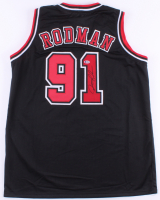 Dennis Rodman Signed Jersey (Beckett COA) (See Description) at PristineAuction.com