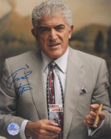 """Frank Vincent Signed """"The Sopranos"""" 8x10 Photo (Pro Player Hologram) at PristineAuction.com"""
