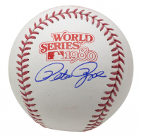Pete Rose Signed Official 1980 World Series Baseball (JSA COA) at PristineAuction.com