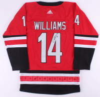 Justin Williams Signed Hurricanes Captains Jersey (JSA COA) at PristineAuction.com