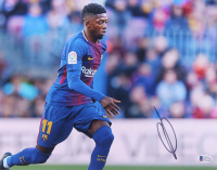 Ousmane Dembele Signed Barcelona 11x14 Photo (Beckett COA) at PristineAuction.com