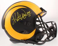 "Kurt Warner Signed Rams Full-Size Eclipse Alternate Speed Helmet Inscribed ""HOF 17"" (Beckett COA & Warner Hologram) at PristineAuction.com"