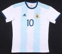 """Lionel Messi Signed Argentina Jersey Inscribed """"Leo"""" (Beckett COA) at PristineAuction.com"""