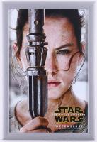 """Star Wars: The Force Awakens"" 12.5x18.5 Custom Framed Print Display at PristineAuction.com"