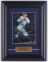"LeRoy Neiman ""The Babe"" 9.5x12.5 Custom Framed Cut Display at PristineAuction.com"