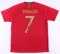 Cristiano Ronaldo Signed Portugal Jersey (Beckett Hologram) at PristineAuction.com