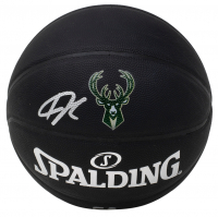 Giannis Antetokounmpo Signed Official NBA Arena Series Black Basketball (JSA COA) at PristineAuction.com