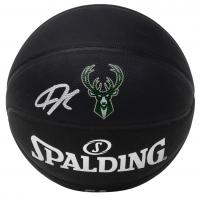 Giannis Antetokounmpo Signed Official NBA Arena Series Black Basketball (JSA COA) at PristineAuction.com