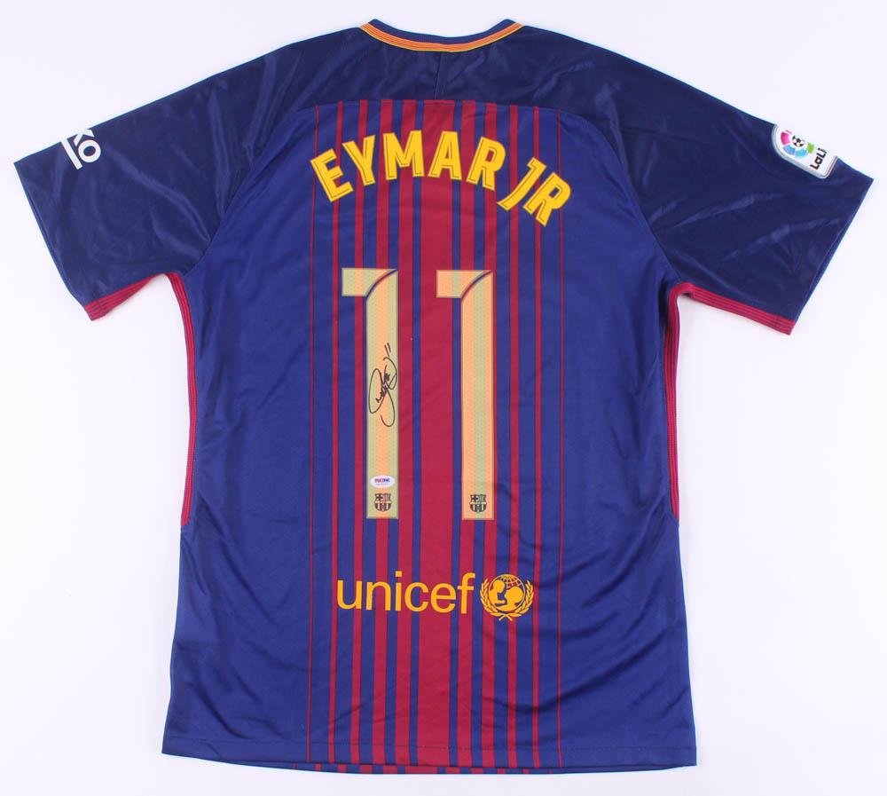 Neymar Signed Fc Barcelona Jersey Psa Hologram Pristine Auction