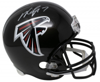 Michael Vick Signed Falcons Full-Size Helmet (JSA COA) at PristineAuction.com
