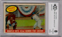 Mickey Mantle 1959 Topps #461 BT (BCCG 8) at PristineAuction.com