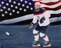 Hilary Knight Signed Team USA 16x20 Photo (COJO Hologram) at PristineAuction.com