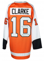 """Bobby Clarke Signed Jersey Inscribed """"Broad Street Bullies"""" (JSA COA) at PristineAuction.com"""