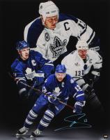 Mats Sundin Signed Maple Leafs 16x20 Photo (COJO COA) at PristineAuction.com