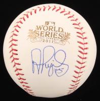 Albert Pujols Signed 2011 World Series Baseball (Beckett Hologram) at PristineAuction.com
